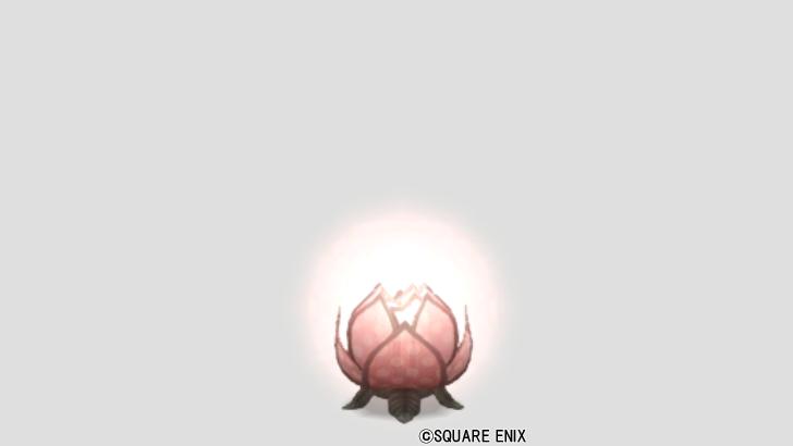ハスの花ランプ・赤