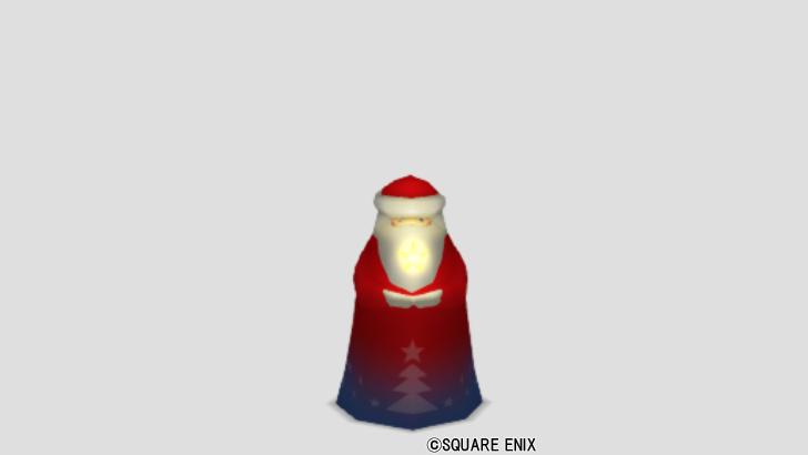 サンタのランプ