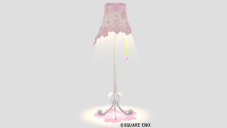 桜花のランプ