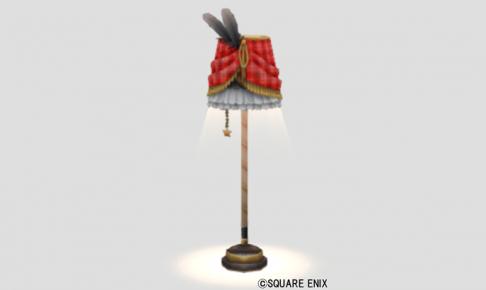 チェックのランプ・赤