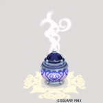 スライム柄の香炉ランプ