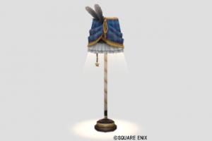 チェックのランプ・青