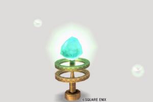 妖精図書館のクリスタル