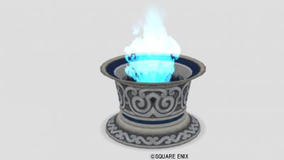 魔塔の青い炎の台座