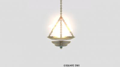 魔塔の吊りランプ・赤