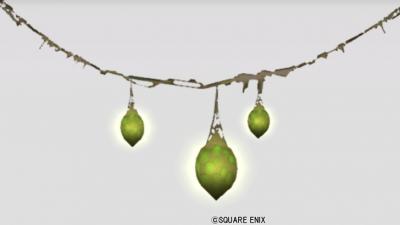 闇の領界の植物ランプ