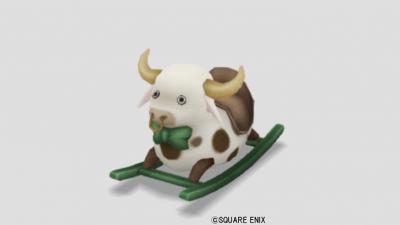 ゆらゆら牛さん・白