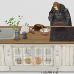 黒衣の剣士キッチン
