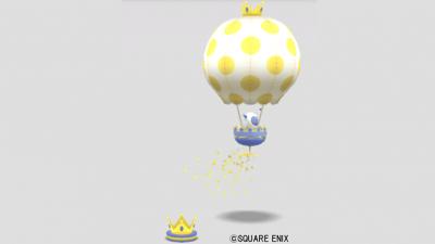 わたぼう気球おもちゃ
