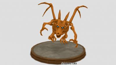 ドラゴンゾンビの像