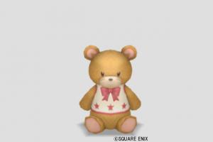 クマのぬいぐるみ小・茶