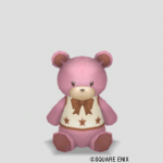 クマのぬいぐるみ小・桃