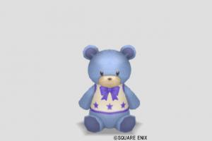 クマのぬいぐるみ小・青