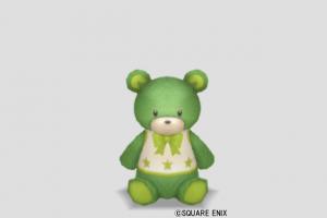 クマのぬいぐるみ小・緑
