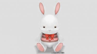 ウサギぬいぐるみ・白