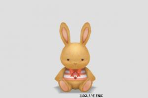 ウサギぬいぐるみ小・茶