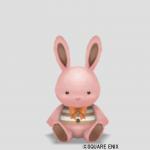 ウサギぬいぐるみ小・桃