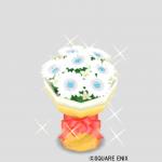 シルバーの花束