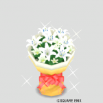 ピュアスノーの花束
