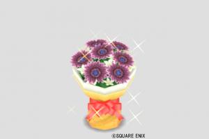 ダークプラムの花束