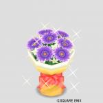 バイオレットの花束