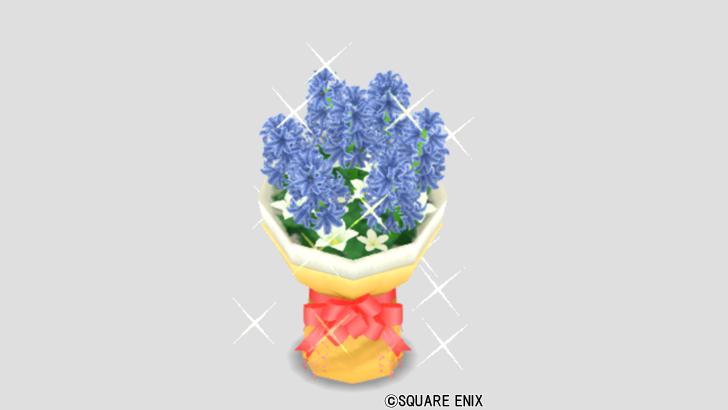 グレーブルーの花束