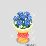ネイビーの花束