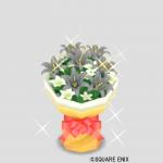 ダークグレーの花束