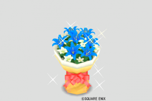 ブルーの花束