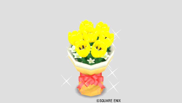 イエローの花束