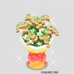 カフェラテの花束