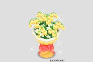 サンゴールドの花束