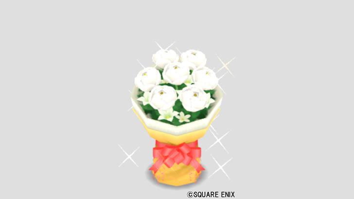 クリームの花束