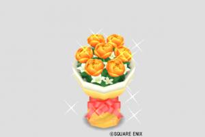 だいだいの花束