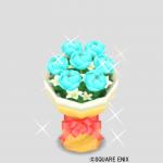 スカイブルーの花束
