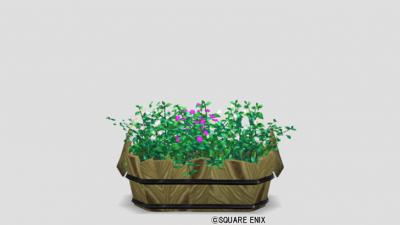 三色花プランター・家用