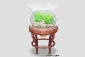 赤い金魚と金魚鉢