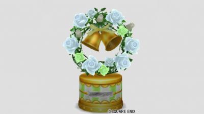 白バラのオルゴール