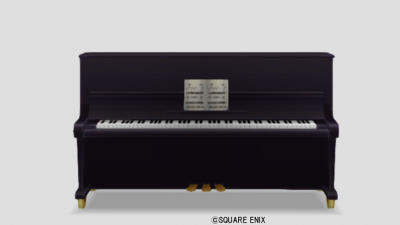 黒のピアノ