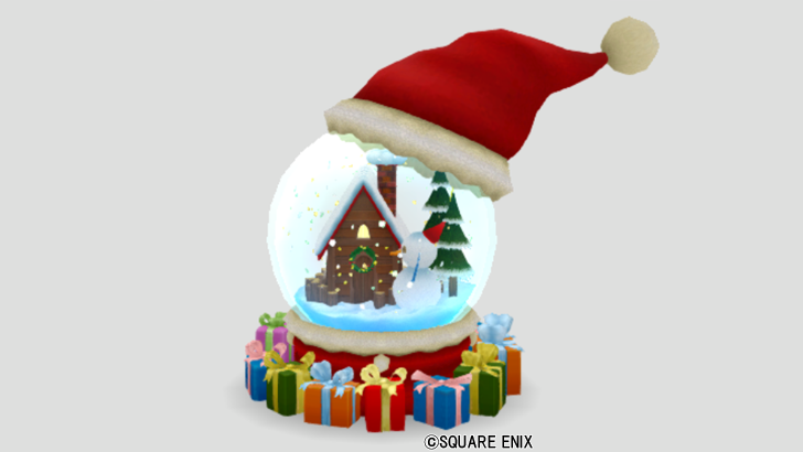 クリスマスノードーム