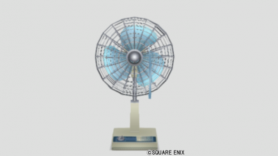 昔ながらの扇風機