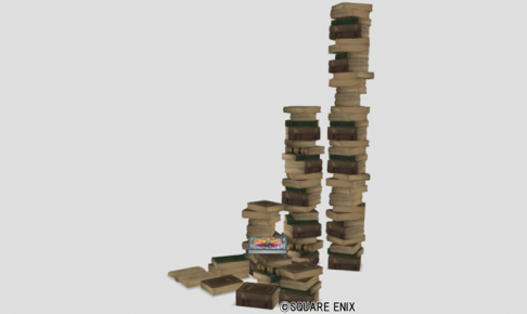 妖精図書館の本タワー