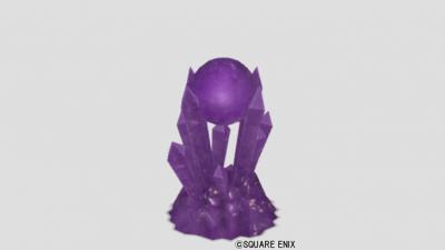 紫水晶の置物