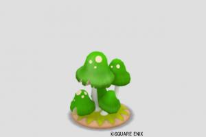 おきもの緑キノコ