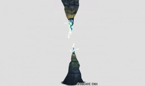 嵐の領界の雷岩