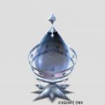 しずく結晶のオブジェ
