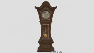 振り子の柱時計