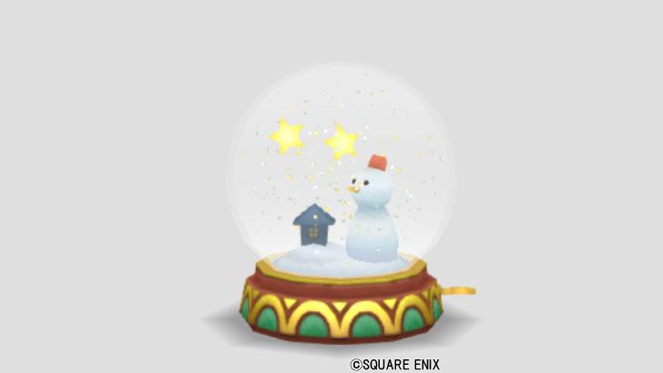 雪だるまのドーム
