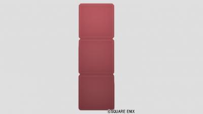 3段ブロック・赤