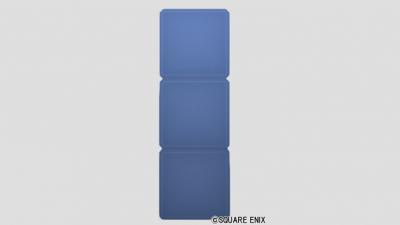 3段ブロック・青